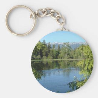 Montana Mountains Keychain