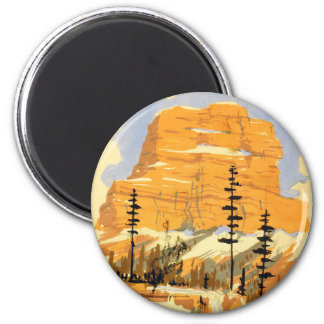Montana Mountains Magnets