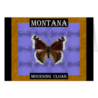 Montana Mourning Cloak Butterfly Card