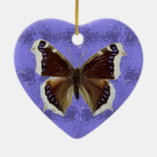 Montana Mourning Cloak Butterfly Ceramic Ornament