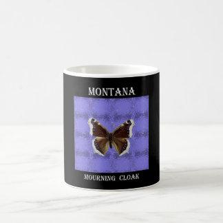 Montana Mourning Cloak Butterfly Coffee Mug