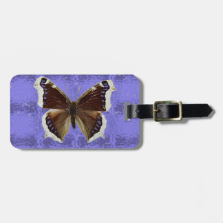 Montana Mourning Cloak Butterfly Luggage Tag