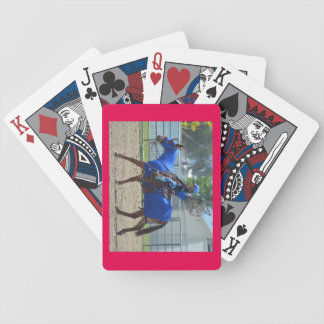 Montana Mule Days Bicycle Playing Cards