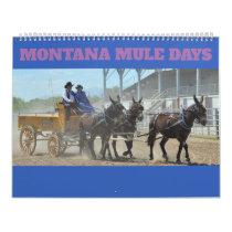 Montana Mule Days Calendar