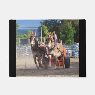 Montana Mule Days June 2016 Doormat