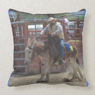 Montana Mule Days June 2016 Throw Pillow
