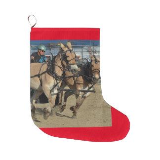 Montana Mule Days Large Christmas Stocking
