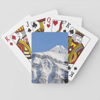 Montaña Nevado Cartas De Juego