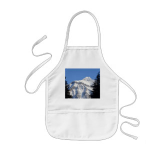 Montaña Nevado Delantal Infantil