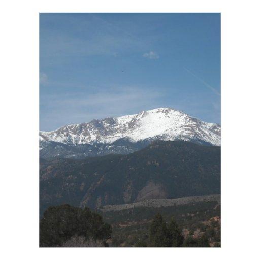 Montaña Nevado Tarjeton