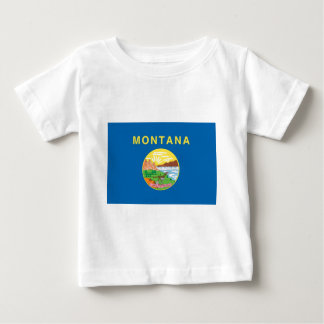 Montana  Official State Flag Baby T-Shirt