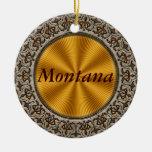 Montana Ornamento Para Arbol De Navidad