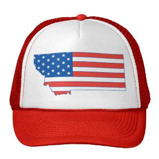 Montana Patriotic Hat Trucker Hat