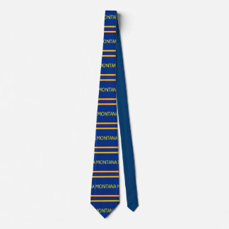 Montana Patterned Striped Tie