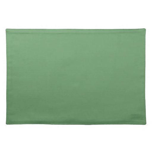 Montaña Placemats verde Manteles Individuales