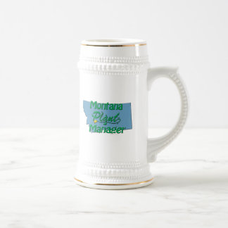 Montana Plant Manager Beer Stein
