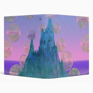 Montaña poética rosa mágico abstracto del trullo