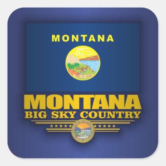 Montana Pride Square Sticker