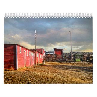 Montana Ranch Calendar