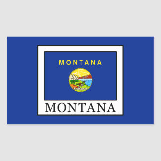 Montana Rectangular Sticker