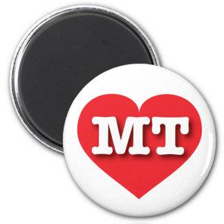 Montana Red Heart - Big Love Magnet