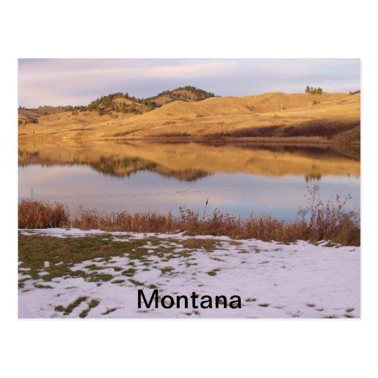 Montana-Reflections Postcard