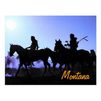 Montana Riders Postcard