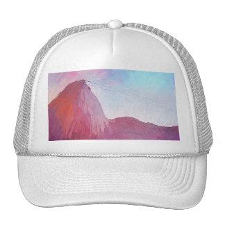 Montaña Río de Janeiro de Sugarloaf del arte Gorras