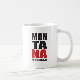 Montana Rocks! State Spirit Gifts and Apparel Coffee Mug
