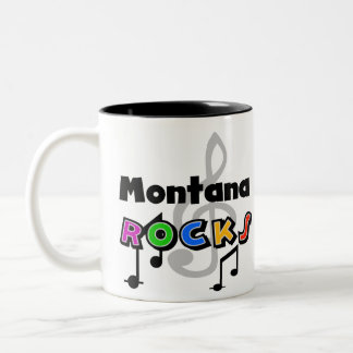 Montana Rocks Two-Tone Coffee Mug