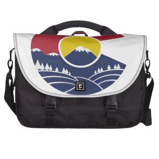 Montaña rocosa Colorado C Bolsas Para Portatil