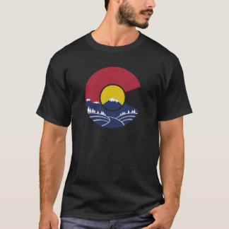 Montaña rocosa Colorado C Playera