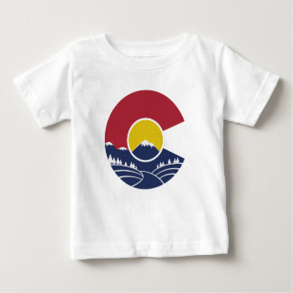 Montaña rocosa Colorado C Playera De Bebé