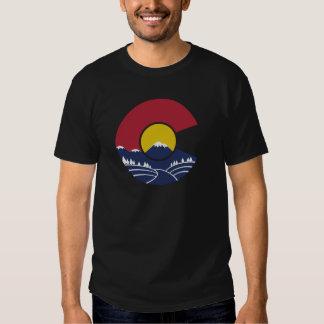 Montaña rocosa Colorado C Remera