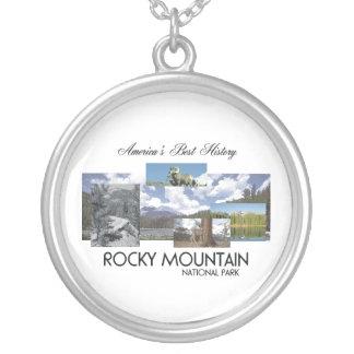 Montaña rocosa de ABH Colgante Redondo