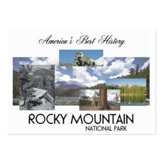 Montaña rocosa de ABH Tarjetas De Visita Grandes