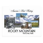 Montaña rocosa de ABH Tarjetas Postales