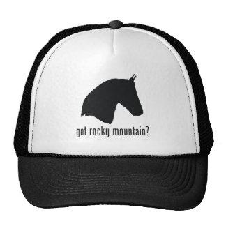 Montaña rocosa gorras de camionero