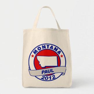Montana Ron Paul Tote Bags