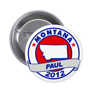Montana Ron Paul Pin