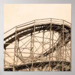 Montaña rusa de Coney Island Impresiones