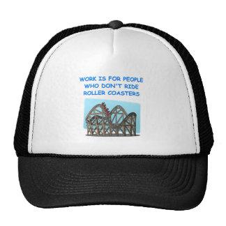 montaña rusa gorras de camionero