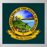 Montana Seal Print