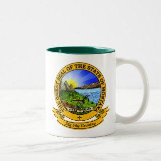 Montana Seal Two-Tone Coffee Mug