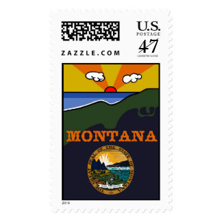 Montana - Show Your Pride-Large (card available) Postage