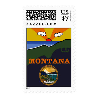 Montana - Show Your Pride-Medium (card available) Postage