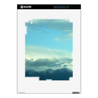 Montana Skies Decals For iPad 2