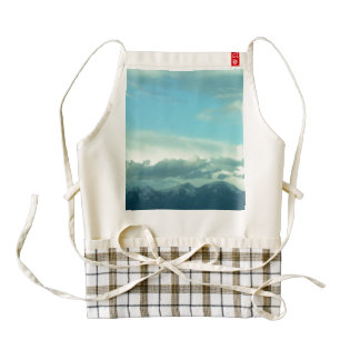 Montana Skies Zazzle HEART Apron