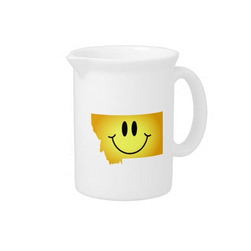 Montana Smiley Face Beverage Pitcher