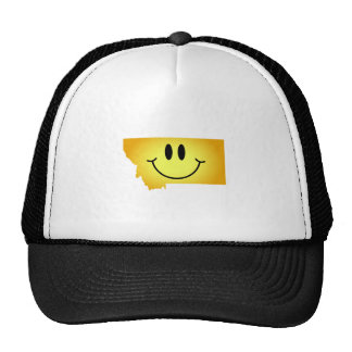 Montana Smiley Face Trucker Hat